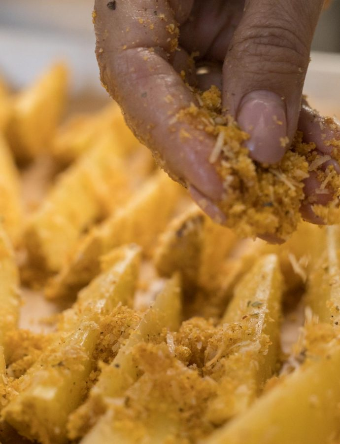 Začinjeni hrskavi krumpirići